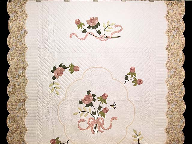 Dusty Rose Lancaster Treasures Quilt Photo 2