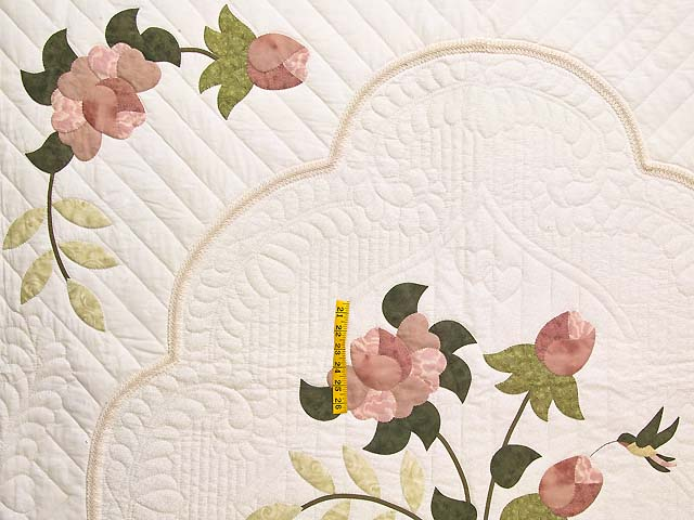 Dusty Rose Lancaster Treasures Quilt Photo 4