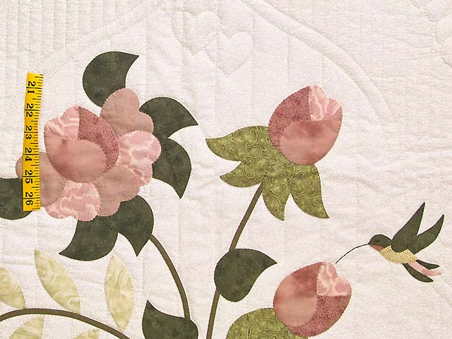 Dusty Rose Lancaster Treasures Quilt Photo 5