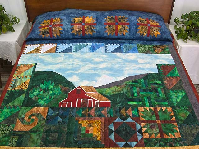 Barn Sampler Quilt Photo 1