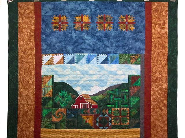 Barn Sampler Quilt Photo 2