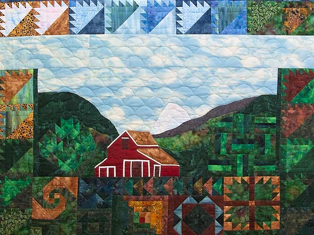 Barn Sampler Quilt Photo 3