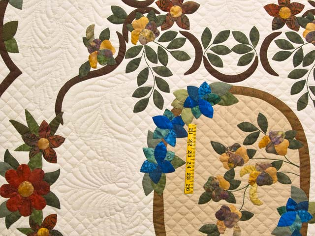 King Rose of Sharon Quilt Photo 4