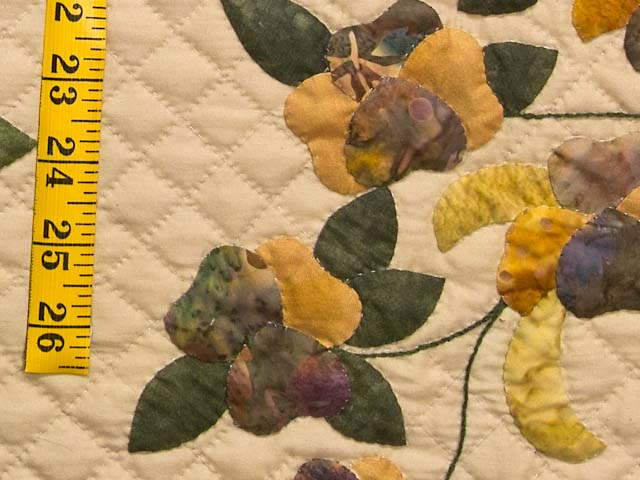 King Rose of Sharon Quilt Photo 5