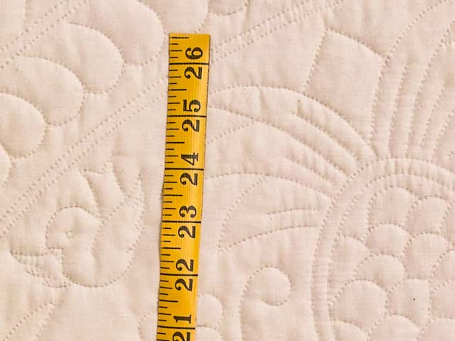 King All-Quilted Pineapple Quilt Photo 6