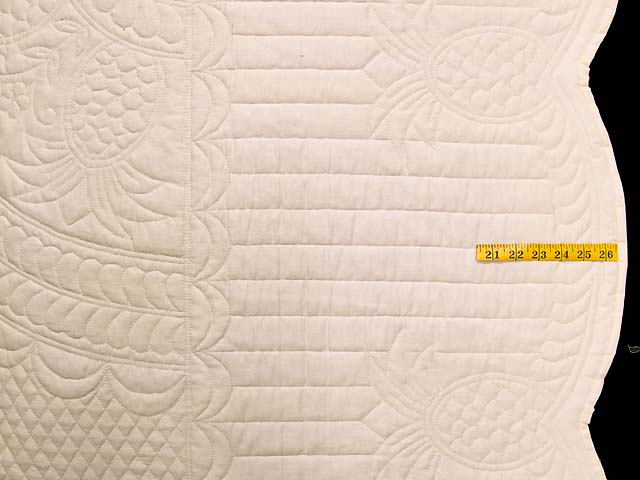 King All-Quilted Pineapple Quilt Photo 7