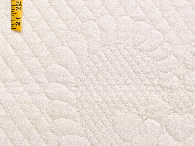 Plum Mauve and Green Heart of Roses  King Size Bed Quilt Photo 6