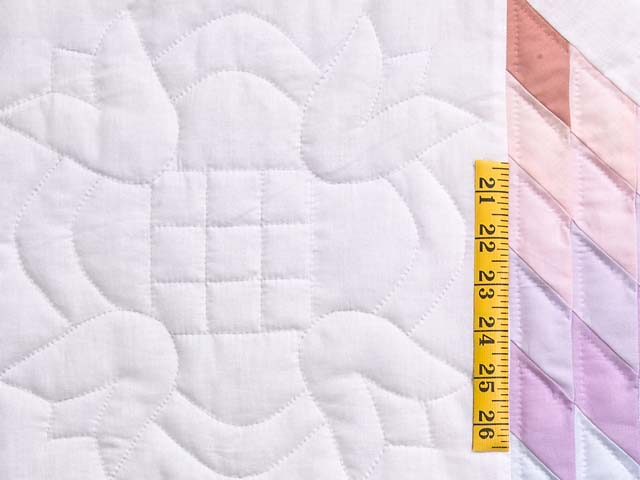 Full Size Pastel Lone Star Quilt Photo 5