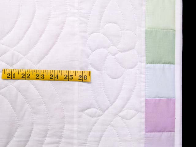 Full Size Pastel Lone Star Quilt Photo 7