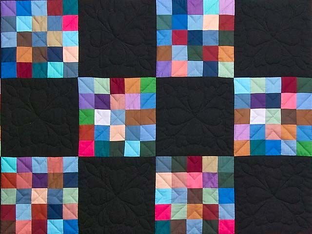 Almost Amish Alternating Blocks Quilt Photo 3