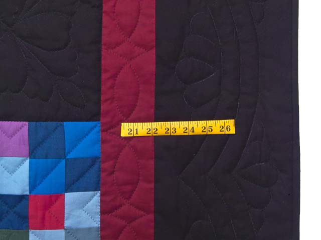 Almost Amish Alternating Blocks Quilt Photo 6