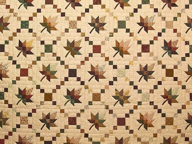 King Earthtones Autumn Wind Quilt Photo 3