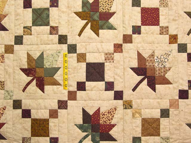 King Earthtones Autumn Wind Quilt Photo 4