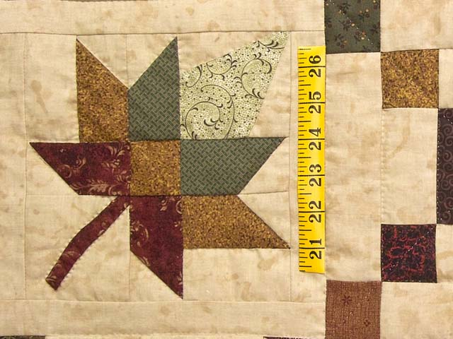 King Earthtones Autumn Wind Quilt Photo 5