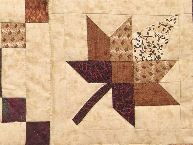 King Earthtones Autumn Wind Quilt Photo 6