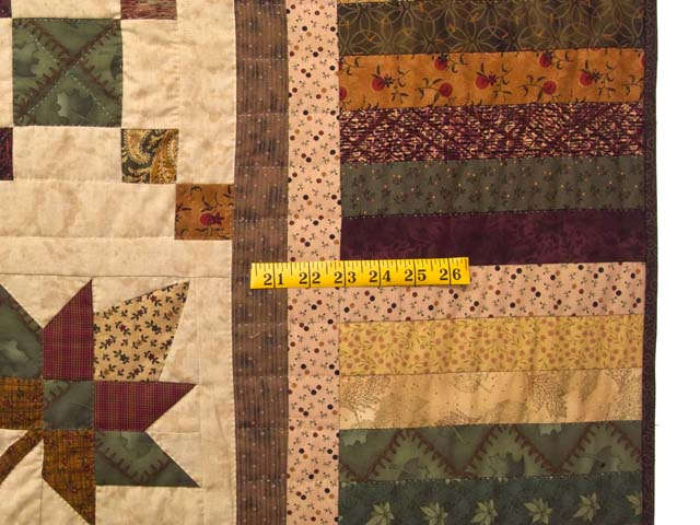 King Earthtones Autumn Wind Quilt Photo 7