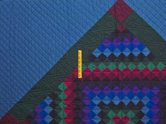 Amish Sunshine Diamond Quilt Photo 4