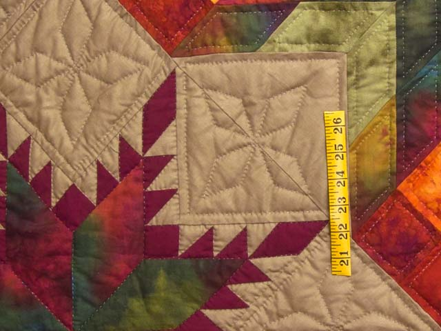 King Feathered Star Quilt Photo 5