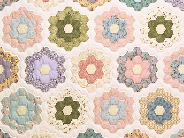 Antique Colors Flower Garden Photo 3