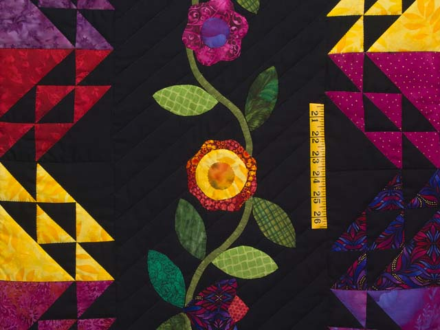 King Flower Power Quilt Photo 5