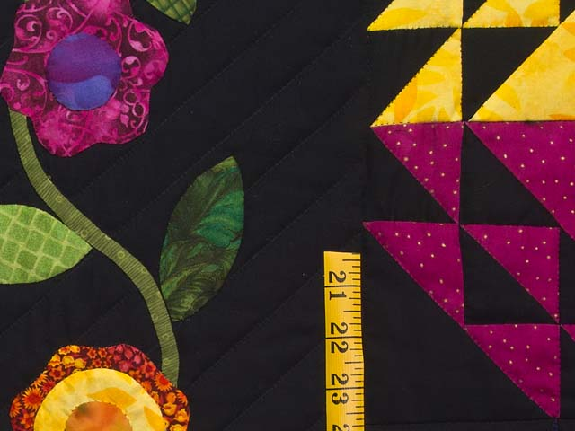 King Flower Power Quilt Photo 6