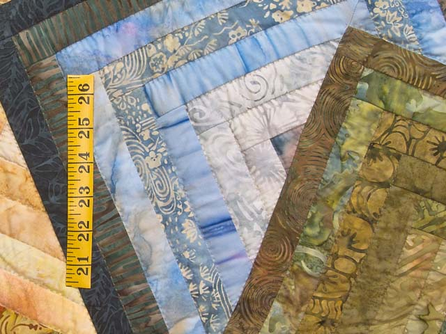 Hand Painted Star Spin Quilt Photo 6