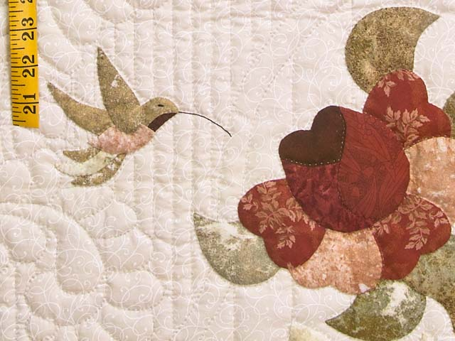 Rose Sage and Taupe Lancaster Treasures Quilt Photo 5