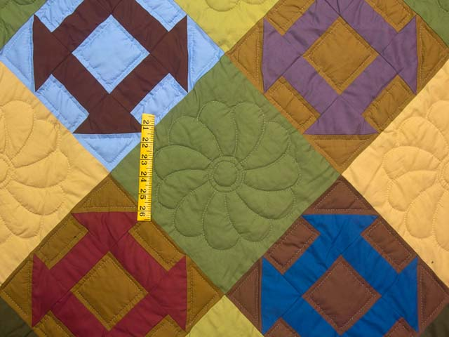 Midwest Amish Churn Dash Quilt Photo 4