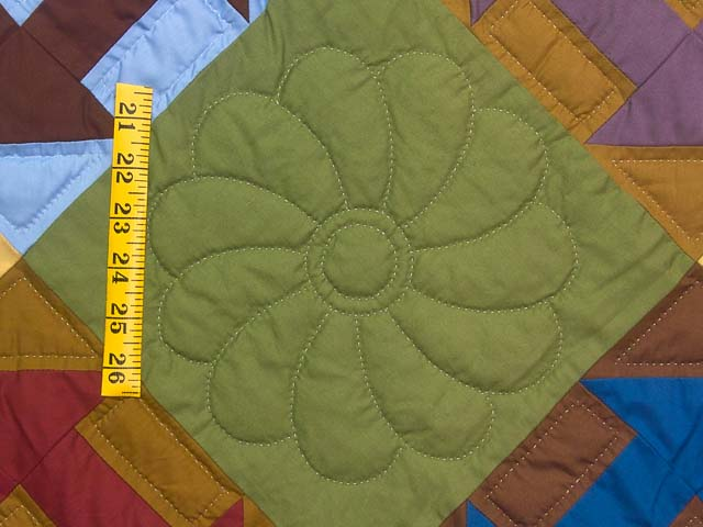 Midwest Amish Churn Dash Quilt Photo 5