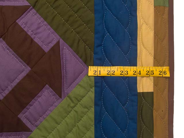 Midwest Amish Churn Dash Quilt Photo 6