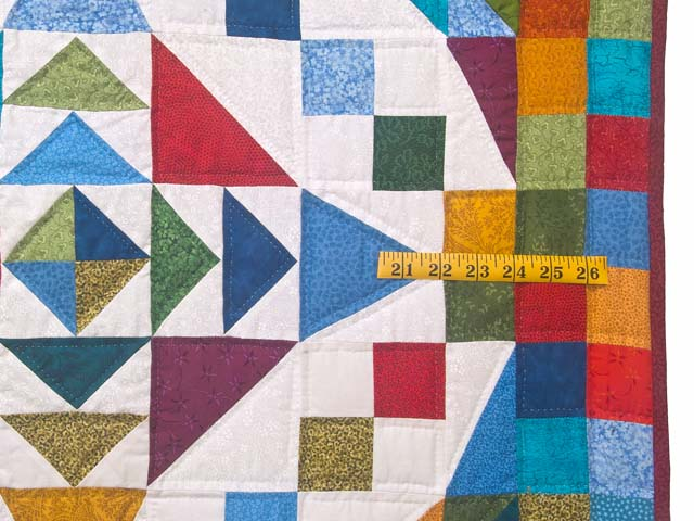 Colorful Faceted Jewels Quilt Photo 7