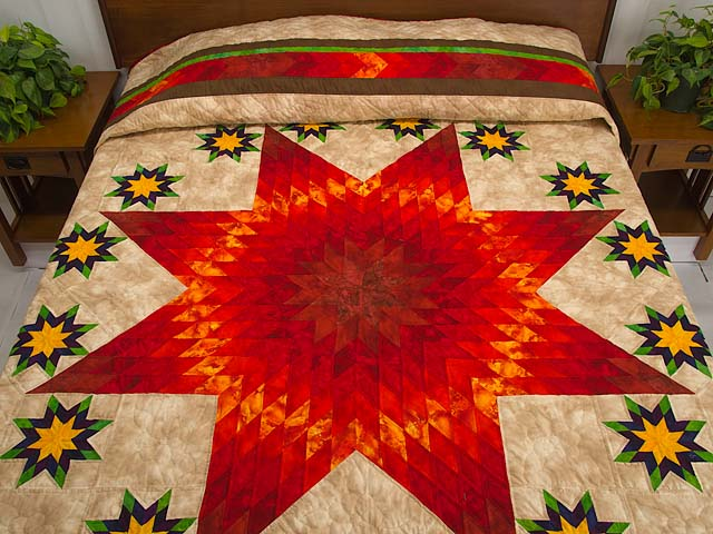 King Stars over Texas Quilt Photo 1