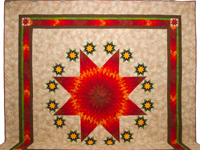 King Stars over Texas Quilt Photo 2