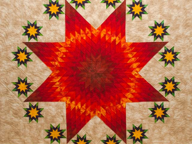 King Stars over Texas Quilt Photo 3