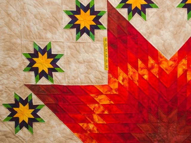 King Stars over Texas Quilt Photo 4