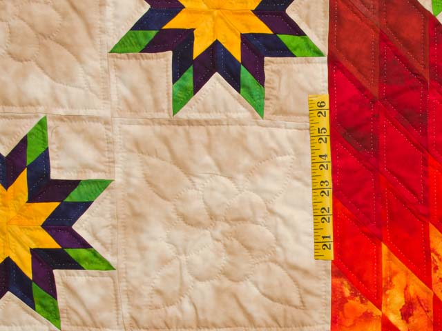 King Stars over Texas Quilt Photo 5