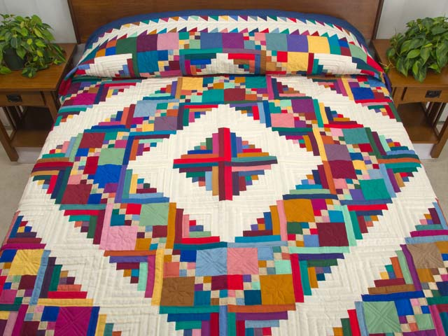 Midwest Amish Home Sweet Home Quilt Photo 1
