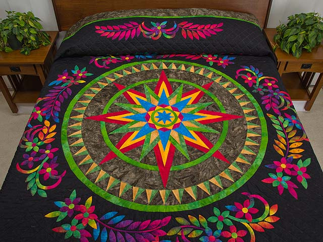 Katie Compass Star Quilt Photo 1