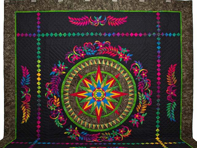 Katie Compass Star Quilt Photo 2