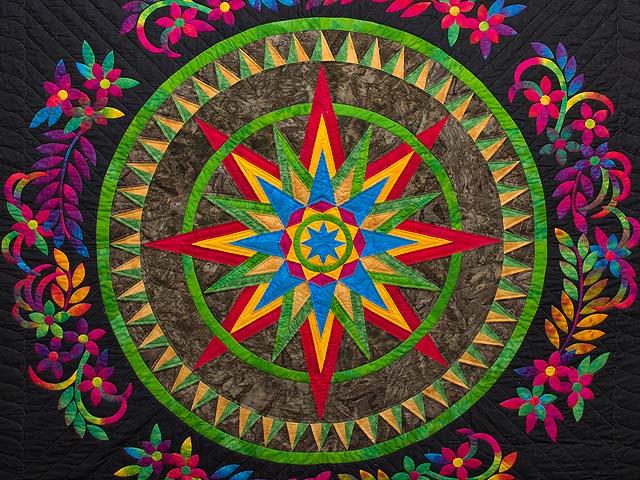 Katie Compass Star Quilt Photo 3