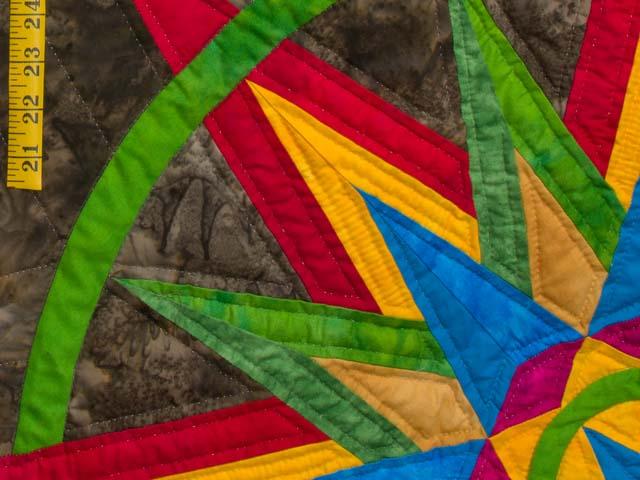 Katie Compass Star Quilt Photo 5