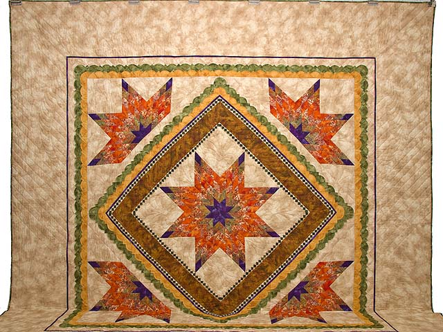 King April Sunrise Quilt Photo 2
