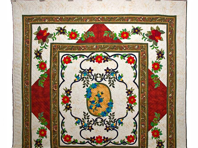 Rose of Sharon Quilt Photo 2