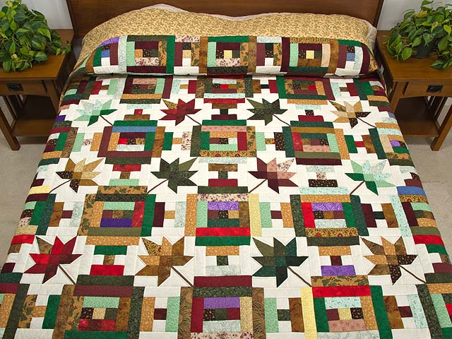 Colorful Court Step Splendor Quilt Photo 1