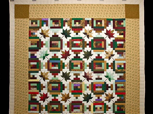 Colorful Court Step Splendor Quilt Photo 2