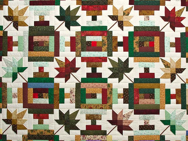 Colorful Court Step Splendor Quilt Photo 3