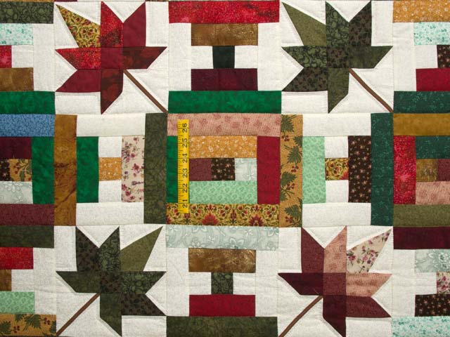 Colorful Court Step Splendor Quilt Photo 4