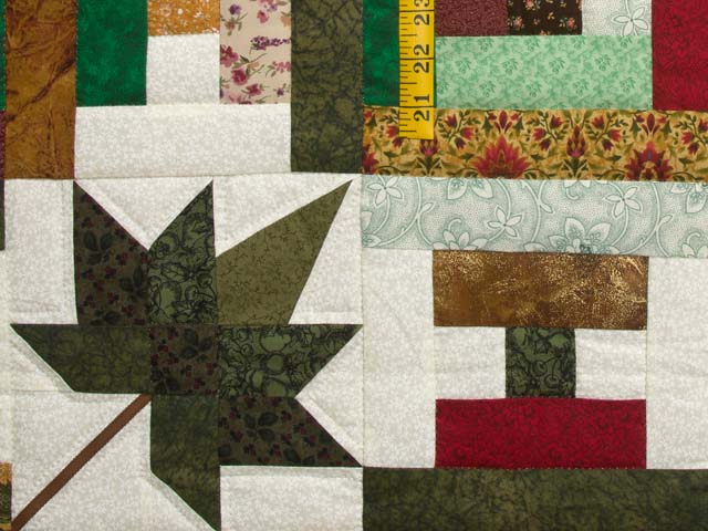 Colorful Court Step Splendor Quilt Photo 6