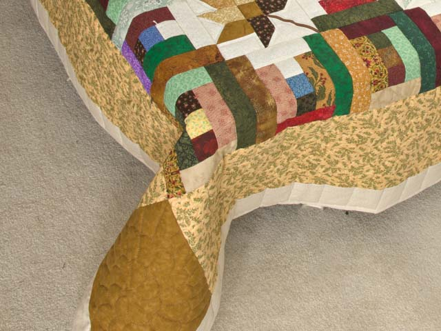 Colorful Court Step Splendor Quilt Photo 7