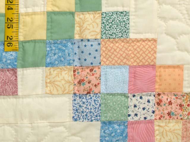 Pastel Triple Irish Chain Quilt Photo 6